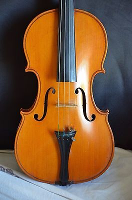 Old french violin student violin A. Deblaye for renovation