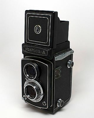 Yashica-A 120 Twin Lens Reflex TLR Vintage Camera #58244