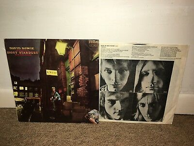 DAVID BOWIE Ziggy Stardust & The Spiders From Mars LP 1972 UK 1st!
