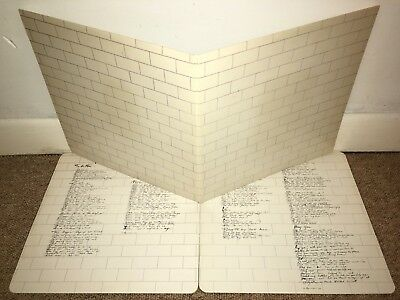 PINK FLOYD The Wall Double LP Harvest 1979 UK 1st Press!