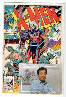 X-Men 2 With Certificate Of Authenticity 41 Of 3000 Hand Signed Jim Lee  Marvel