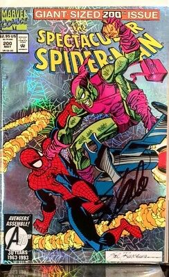 Spectacular Spider-Man Vol 1 #200 Signed By Stan Lee *nm Marvel Classic