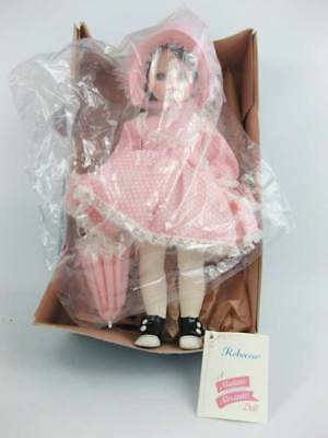 """Vintage Madame Alexander """"REBECCA #1585 Doll with Original Box and Tag 14"""" 1960?"""