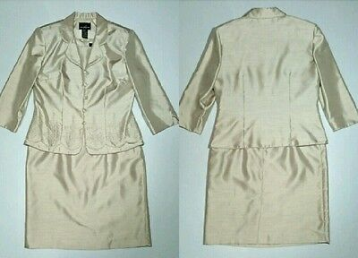 Positive Attitude Dress Suit with Jacket 2pc Formal Mother of the Bride size 12