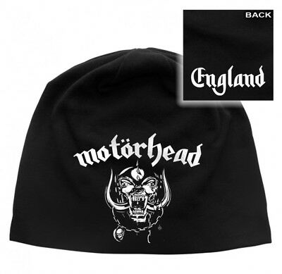 Motorhead - Light Cotton Beanie - Printed - England