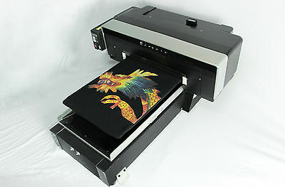 DTG Direct To Garment T-Shirt Personal DIY Printer BUILD Video, PDF and SOFT DVD