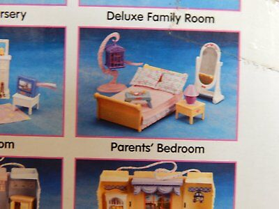 New Fisher Price Loving Family Dollhouse Furniture Parents Bedroom