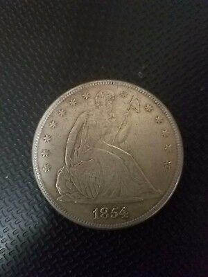 1854 Seated Liberty  Dollar Souvenir