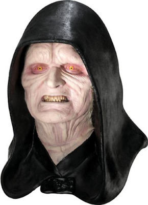 Rubies Costume Men's Star Wars Deluxe Adult Latex Emperor Palpatine Mask