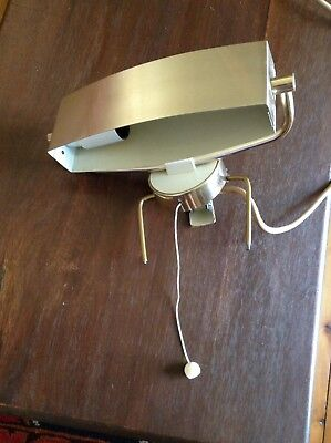 Kempthorne  Anodised Vintage Clip On Lamp
