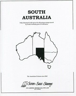 Seven seas South Australia hingeless pages full set new