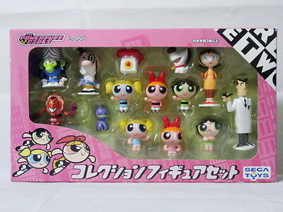 The Powerpuff Girls Collection Figure 14pcs Sega Toys Jojo Jojo Utonium Keane