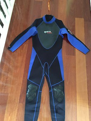 Mares 3mm Tropic Wetsuit Size 6 NEW
