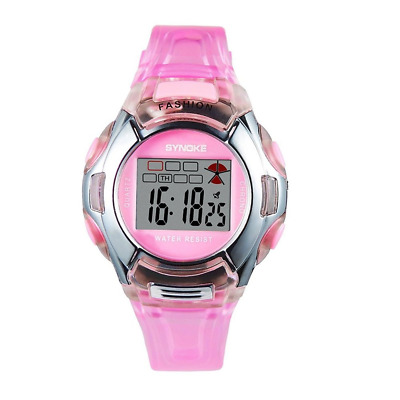 Multifunction Kids Sports Watches 3ATM Water Resistance Backlight Digital Studen