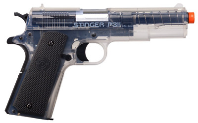 Crosman Stinger 311 Clear and Black AirSoft Pistol