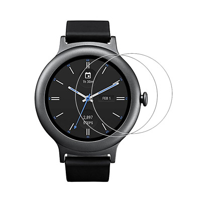 [2-Pack] LG Watch Style Tempered Glass Screen Protector, 9H Hardness Full Covera