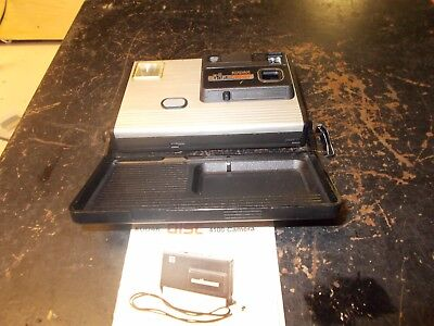 Kodak Disc 4100 Camera With Instruction Booklet Ships Free