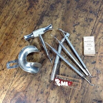 Vintage Medical Dental Dentistry Lot