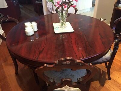 Rosewood Dining Table - William IVth - seats 6