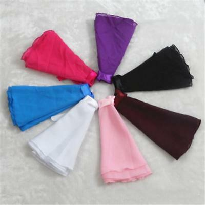 Mulit Color Ballet Tranning Scarf Tutu Skirt Dance Skate Costume Dress Chiffon