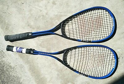 2 great squash racquets