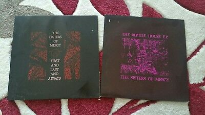 """Ths Sisters Of Mercy - """"First, Last And Always"""" Reptile house 12' Vinyl LP,s"""