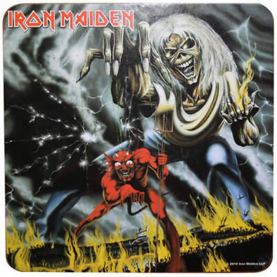 Iron Maiden - Drink Coaster Set of 5 (Number Of The Beast)