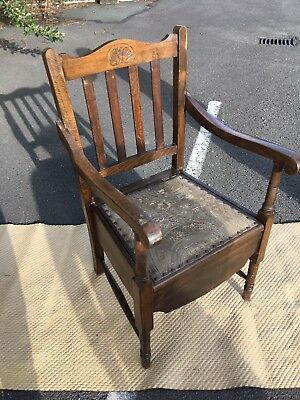 Antique Commode Chair