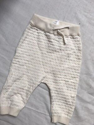 baby Girl H&M Joggers size 1-2 Months