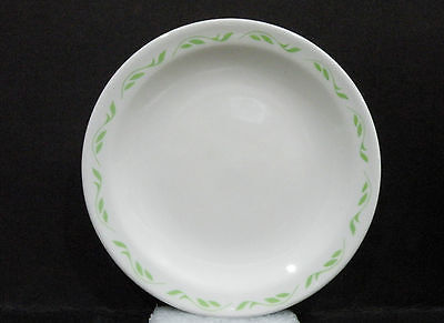 """Bristile small Side Plate light green leaves pattern vgc (5"""")"""