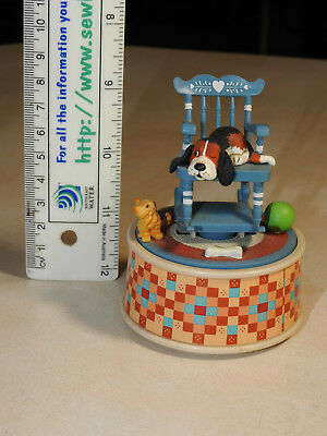 "Vintage ENESCO Music Box, ""My Favourite Things"", Made in China 1987. VGC."