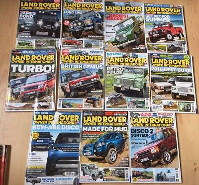 Land Rover Owner magazines 2016.