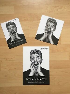 Bowie/ Collector Sotheby's Card/ Guides