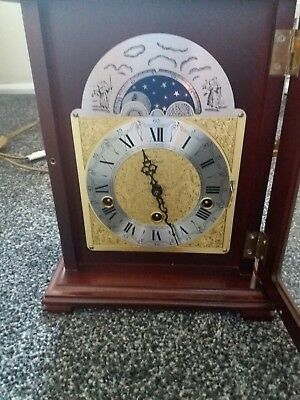 Beautiful mantle clock with key