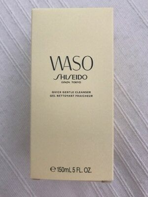 Shiseido Waso Quick Gentle Cleanser 150 New RRP £24.00