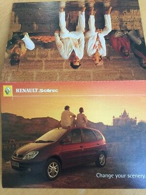 Renault Scenic Promotional Postcard