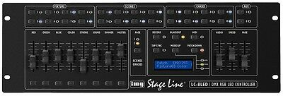 img Stage Line LC-8LED - LED-Operator / DMX-Controller
