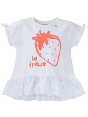 NEW eeni meeni miini moh E3M Top-Frill Pure White Babies Kids
