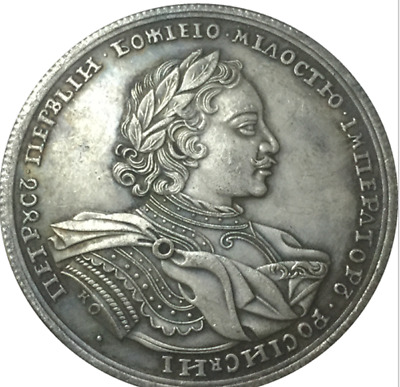 1719 Peter I Russia COINS Colectionar Antique Free Shipping