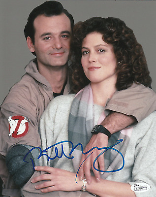 Bill Murray. Authentic autograph. Signed photo. Ghostbusters. Groundhog Day. JSA