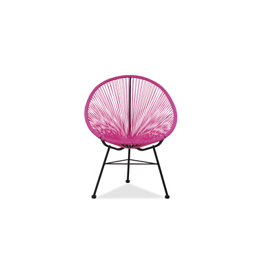 GFURN Reproduction of Acapulco Chair - Fuchsia