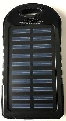 Solar Mobile Phone Charger External Quick Battery Waterproof Usb Universal New