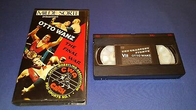 Wrestling Österreich BIG OTTO WANZ The greatest Fights The final War 1990 VHS