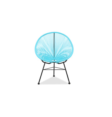 GFURN Reproduction of Acapulco Chair - Blue