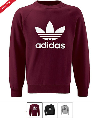"Adidas Unisex Sweatshirt ""high Quality""On Sale One Various Sizes And Colour"