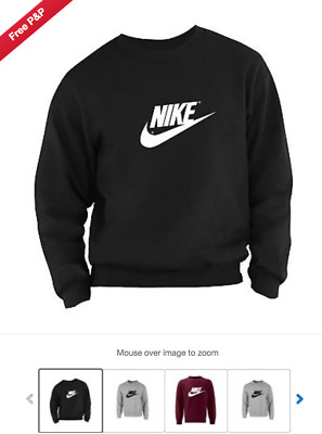 "Nike Unisex Sweatshirt ""high Quality""On Sale One Various Sizes And Colour"