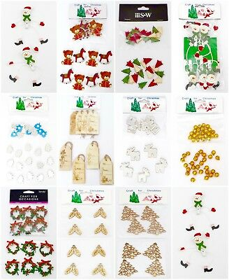 Craft for Christmas Embellishments for decorations, cards and scrapbooking