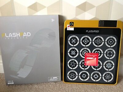 FLASHPAD INFINITE Console With Songbook 16 Games GOLD NEW AND BOXED
