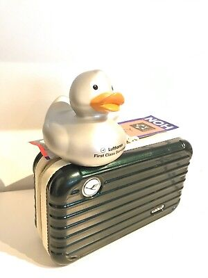 The LATEST Lufthansa RIMOWA A380 First Class Amenity Kit & Duck included