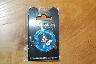 Pin Cast Member Disneyland Paris Dingo/goofy 25 Anniv. 3017 Ex